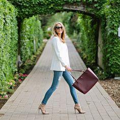 Shop @emilyijackson dressed up jeans look! 1. Register online at ww.LIKEtoKNOW.it 2. Like her phot... #liketkit www.liketk.it/2osg @liketkit