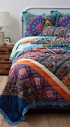 Wildfield Quilt (Anthropologie)