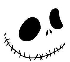 Free Halloween Pumpkin Carving Stencil. Skull. DIY crafts & decorations.   GOTTA LOVE JACK......