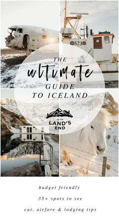 THE ULTIMATE GUIDE TO ICELAND IN THE WINTER - To The Land's End. Iceland, explore, visit, 35 spots, hidden, local, travel, guide, winter, budget, friendly.