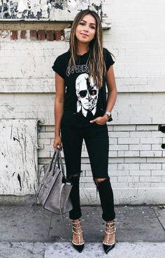 Outfits que harán match con tu alma oscura