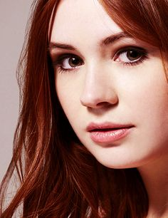 """Amy Pond from """"Doctor Who"""".  Her and Rory were some of my favorite companions with the Doctor. They will be missed. """"Don't Blink"""""""