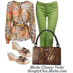 Colors and prints! by miche-kat on Polyvore http://www.simplychicforyou.com/