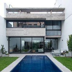 Casas Conesa mostram como o concreto aparente é lindo