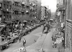 Tenement life for Italian Immigrants, living on Mulberry Street during America's Gilded Age - late 19th century. Located on the Lower East Side of Manhattan. ~ {cwlyons}