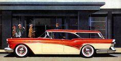"""Obelisco Classic Car Club Cali Colombia: La Buick """"Century Caballero"""" Estate Wagon modelo 1..."""