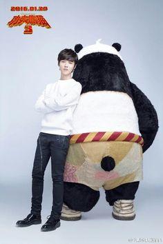Luhan Kung Fu Panda 3 Promotion ~