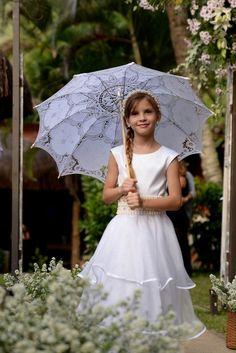 daminha casamento - mini wedding.