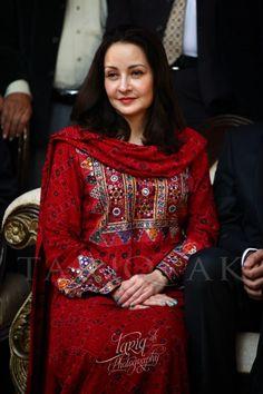Stani Actress Zeba Bakhtiar In Blochi Dress