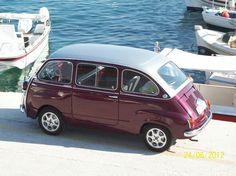 Fiat 600 Multipla (1956) Fiat 500, Fiat Cars, Miniature Cars, Fiat Abarth, City Car, Top Cars, Small Cars, Automotive Design, Cars Motorcycles