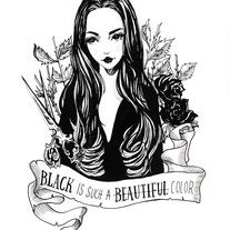 Morticia Addams Fine Art Giclée Print of one of my inktobers from October 2016 Limited Edition Prints Archival inks printed on 260gsm premium Luster Paper Hand signed and numbered by artist illustration art tattoo design quote Addam's family