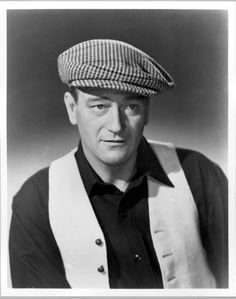 Love John Wayne! The hat's not bad either : )