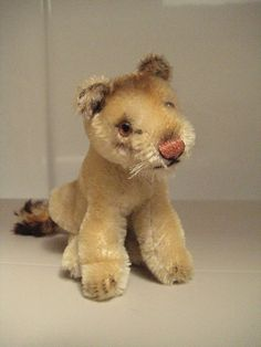 In my ETSY Shop: Steiff Vintage Lea Lioness ~ 1956 to 1969 ~ Queen of the Jungle!