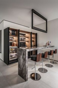 Beautiful Home Bar Designs You'll Go Crazy For. Below are the Home Bar Designs You'll Go Crazy For. This post about Home Bar Designs You'll Go Crazy For was posted under the category by our team at February 2019 at pm. Hope you enjoy it and . Home Bar Rooms, Diy Home Bar, Home Bar Decor, Diy Bar, Mini Bar At Home, Bar Interior Design, Contemporary Interior Design, Interior Decorating, Contemporary Bar