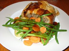 Jenny Eatwell's Rhubarb & Ginger: Minced Beef Wellington - a Jamie Oliver favourite. Carrot Recipes, Beef Recipes, Yummy Recipes, Beef Wellington Jamie Oliver, Beef Wellington Recipe, Puff Pastry Sheets, Beef Bourguignon, No Cook Meals, Beef Meals
