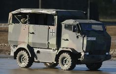 Armored personnel carrier with roll-up windows (Got to love that)