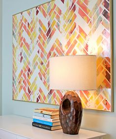 pink + yellow + chevron = beautiful
