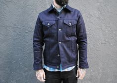 3sixteen Type 3S Shadow Selvedge Denim Trucker Jacket – Snake Oil Provisions