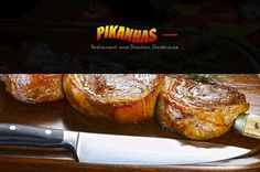 Pikanhas Brazilian Steakhouse serves the traditional Churrascaria Rodizio, featuring a salad bar, a wide variety of all-you-can-eat meats, desserts and more.