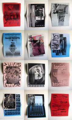 "otiscomarts: "" Joanna Rosso, MFA Graphic Design, Werkplaats Typografie, Spring 2013 """