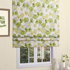 Country Fresh Style Ginkgo Leaf Pattern Roman Shade – USD $ 39.99