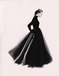 Susan Abraham, 1951 - Photo: Norman Parkinson - (Source: maliciousglamour)