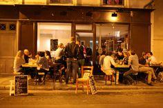 Restaurant L'Ilot à Paris. bulots en terrasse avant 20h!