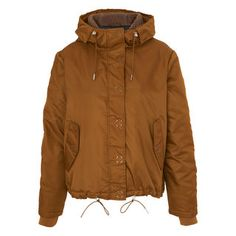 Blake Casual Hooded Coat, in Brown on Whistles