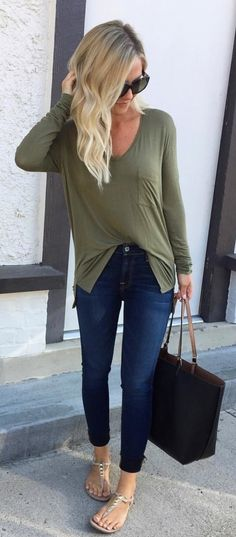 #summer #outfits Y'all - Get This Shirt In Every. Single. Color. I'm Wearing My Usual XS But Could Definitely Do An XXS My Denim Is Also Part Of The Sale And I've Linked All My Faves I've Purchased!