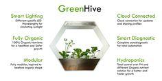 GreenHive hydroponics http://robonica.it/
