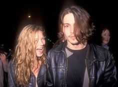 love beauty couple fashion beautiful drugs chic vintage Grunge drug blonde johnny depp Leather love story throwback blond hair leather jacket kate moss timeless heroin chic heroin pop culture damned teens THROWBACK beautiful and damned Grunge Look, 90s Grunge, Grunge Outfits, Grunge Style, Grunge Hair, Soft Grunge, Cindy Crawford, Kate Moss, Johnny Depp