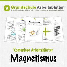 Kostenlose Arbeitsblätter und Unterrichtsmaterial für den Sachunterricht zum Thema Magnetismus in der Grundschule.