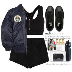 Hola!|6|16|15 by isabellacamaylaneverson on Polyvore featuring polyvore fashion style Alpha Industries Topshop NIKE 3.1 Phillip Lim River Island Henri Bendel Jennifer Zeuner NARS Cosmetics