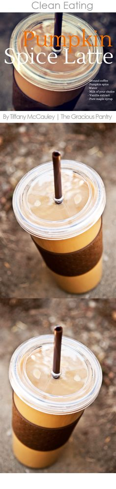 If you love pumpkin spice lattes in the morning, try making this clean and healthy version at home!