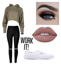 """Untitled #16"" by adagalo on Polyvore featuring Vans and Lime Crime"