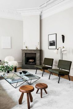 Amazing Scandinavian Living Room Design Ideas Nordic Style - Page 11 of 35 Nordic Living Room, Simple Living Room, Small Living Rooms, Living Room Interior, Home Living Room, Living Room Furniture, Living Room Designs, Living Room Decor, Scandinavian Living