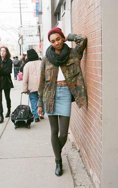 Toronto Street Fashion: Mecha