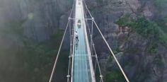 [VÍDEO] Contruyen puente de terror en China...