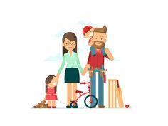 Lifebroker - Family by Chris Phillips #Design Popular #Dribbble #shots