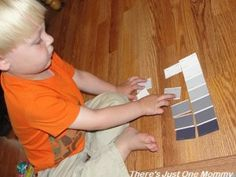Things to Do with Paint Samples