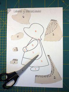 "Best 12 ""Legal Ideas for Patchwork"" – Gold Needle Atelier – SkillOfKing. Free Applique Patterns, Applique Tutorial, Applique Quilts, Embroidery Applique, Doll Patterns, Machine Embroidery, Paper Embroidery, Sunbonnet Sue, Girls Quilts"