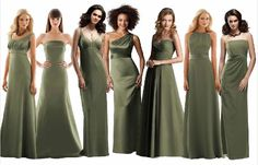 df10a12e9 15 Best Olive Bridesmaid Dresses images in 2017 | Dress wedding ...
