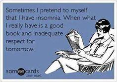 Not insomnia