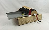 Finest Double Wide Chain Drive - Strauch Fiber Equipment Co. Drum Carder