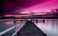 Jezioro, Molo