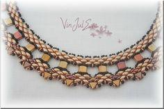 collier Iara peche brun (3) - Inspiration only
