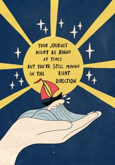 Moving In The Right Direction Art Poster by Asja Boros - X Words Quotes, Wise Words, Me Quotes, Motivational Quotes, Inspirational Quotes, Daily Quotes, Sayings, Pretty Words, Beautiful Words