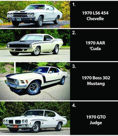 Which car is best for you. Choose the best car. #chebelle #cuda #mustang #gtoo American Classic Cars, Muscle Cars, Mustang, Good Things, Vehicles, Instagram, Wheels, Vintage, Vintage Cars