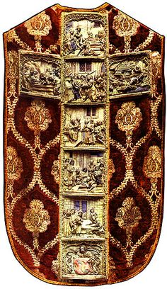The Kmita Chasuble, the most amazingly insane embroidery masterwork I know of