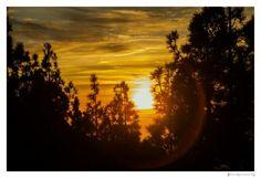 Cielo encendido by Blackpig©. Tenerife